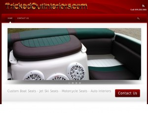 Web Design for  a Custom Upholstery in Pointblank Texas